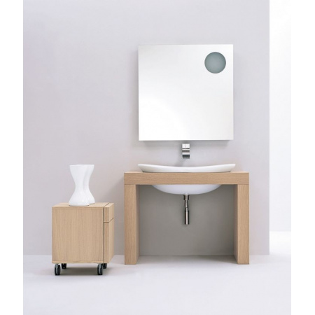 Flaminia IO Umywalka wpuszczana w blat 90x55x29cm, biała IO4290