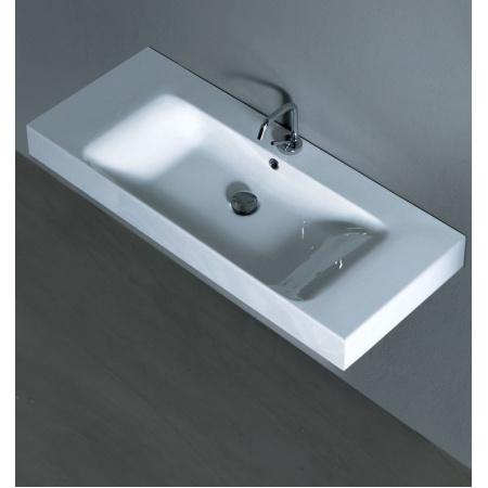 Kerasan Cento Umywalka 100x45 cm, biała 3550