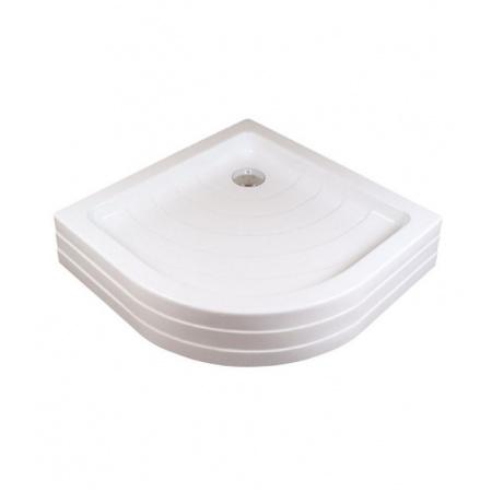 Ravak Kaskada Ronda 90 PU Brodzik półokrągły 90 cm, biały A207001120