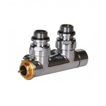 Terma Technologie Zawór termostatyczny 50 mm kątowy 90 stopni prawy, chrom TGZTCR006