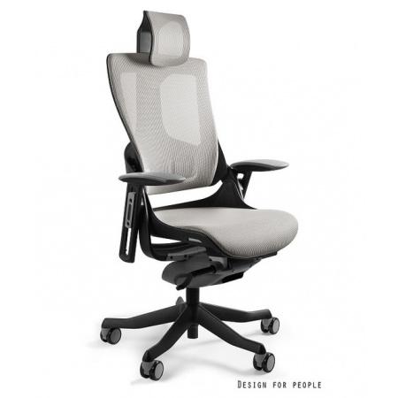 Unique Wau 2 Fotel biurowy, czarny/szary W-709B-NW42