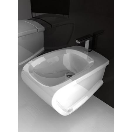 Hidra Hi-Line Bidet podwieszany 54,5x38x42 cm, biały HIW14