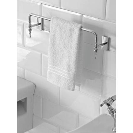 Globo Paestum Wieszak na ręcznik 40 cm, chrom PAAC44