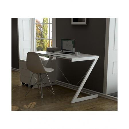 Unique DD Z-Line Computer Desk Biurko 122x76 cm, białe 816-2
