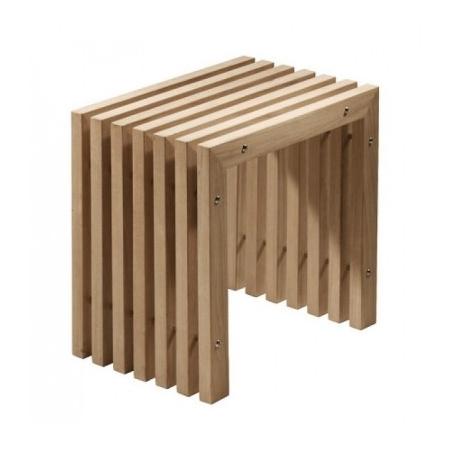 EMCO Single Hocker, stołek teakowy 107950600