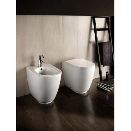 Hatria Fusion Miska WC stojaca, biała YXVD