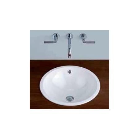 Alape EB.K450 Umywalka wpuszczana w blat 45 cm emaliowana biała z powłoką 2002100400