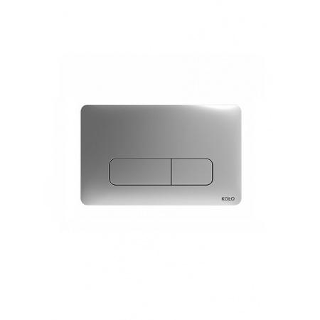 Koło Nova Pro Przycisk spłukujący do stelaża 24x15x0,6cm, chrom matowy 94160003