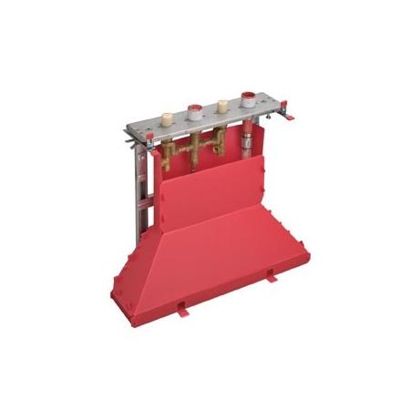 Hansgrohe Axor Zestaw podstawowy do baterii 4-otworowej do montażu na cokole z płytek, chrom 14445180