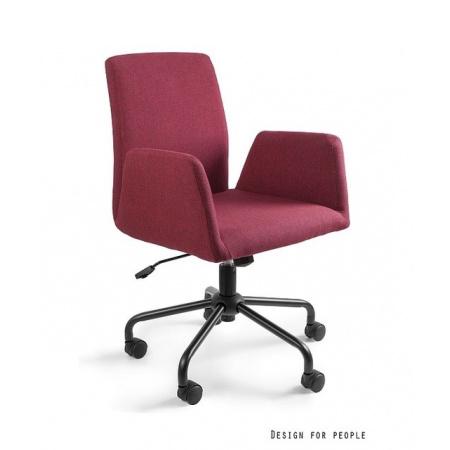 Unique Bravo Fotel biurowy, czerwony 2-155-2