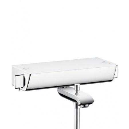 Hansgrohe Ecostat Select Bateria wannowa z termostatem natynkowa, biała/chrom 13141400