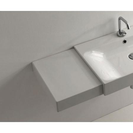 Kerasan Cento Blat do umywalki 63 cm, biały 3560