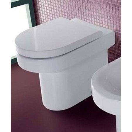 Hatria Daytime Miska WC stojąca z deską zwykłą, biała Y0YK