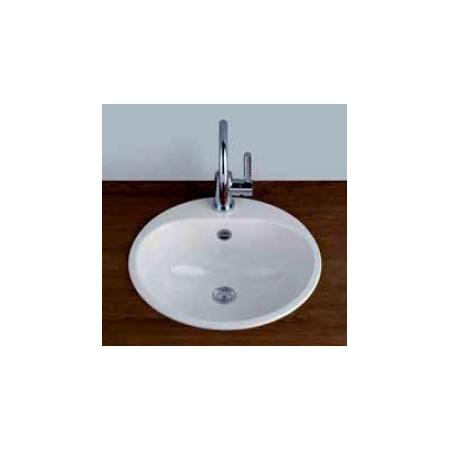 Alape EW 3+1LS25-RE Umywalka wpuszczana w blat 47,5 cm emaliowana biała 2005080401