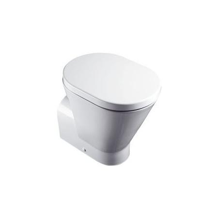 Catalano Verso Comfort Miska WC stojąca 58x37 cm z powłoką CataGlaze, biała 1VAHE00