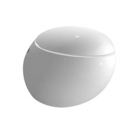 Laufen Alessi One Miska WC stojąca przyścienna 39x58,5cm odpływ podwójny (poziomy lub pionowy), biała H8219714000001