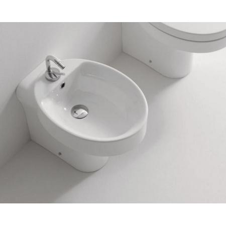 Kerasan Cento Bidet stojący 54x43x37 cm, biały 3520