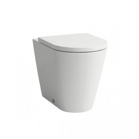 Laufen Kartell Miska WC stojąca 37x56 cm przyścienna ze szkliwieniem LCC, biała H8233314000001