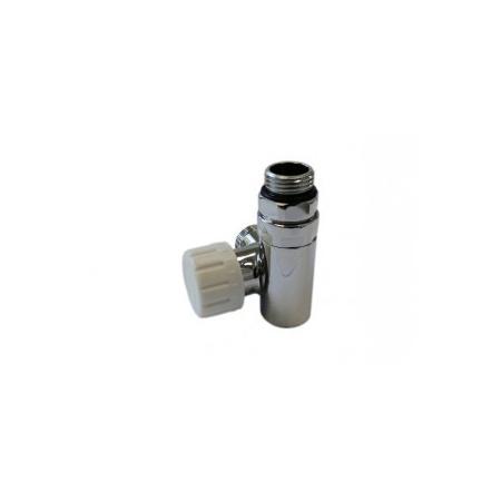 Schlosser zawór termostatyczny do grzałki lewy, chrom, ze złączką na PEX 6049 00011