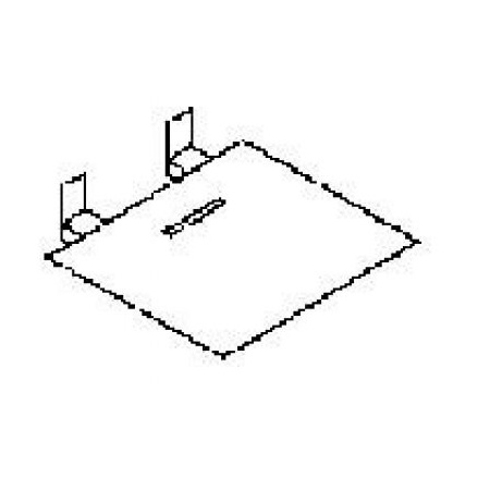 Poolspa Memory Składane siedzisko prysznicowe 33x39 PD0000037