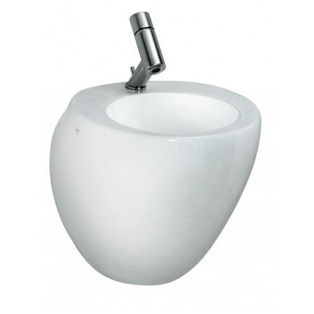 Laufen Alessi One Umywalka wisząca 42x46,5 cm z otworem na baterię  biała H8159704001041