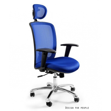 Unique Expander Fotel biurowy, niebieski W-94-7