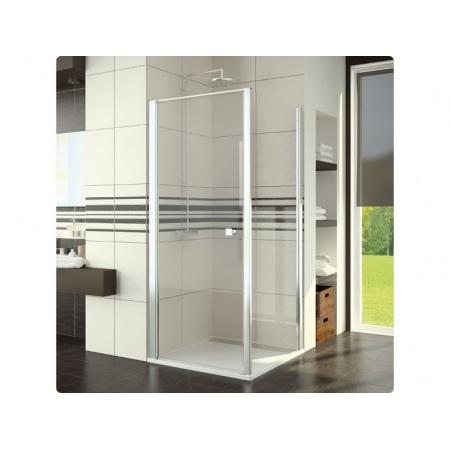 Ronal Sanswiss Swing-Line F Ścianka boczna 90x195 cm, profile połysk szkło przezroczyste SLT109005007