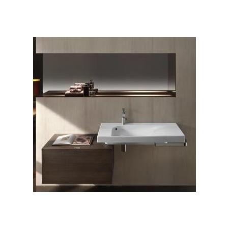 Hatria szafka łazienkowa G-wood 80 cm x 50 cm x 40 cm dark larchwood YXB2