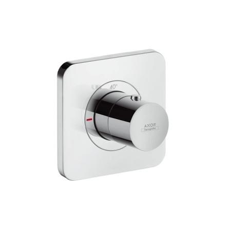 Axor Citterio E Jednouchwytowa bateria prysznicowa termostatyczna podtynkowa 12x12 cm chrom 36702000