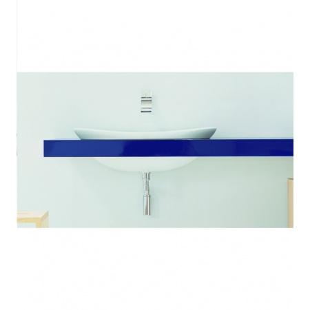 Flaminia IO Półka do umywalki 150-200x55x10cm, ciemny dąb IO90M3