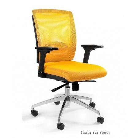 Unique Multi Fotel biurowy, żółty X-7-10