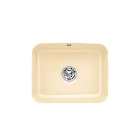 Villeroy&Boch Cisterna 60C Zlewozmywak ceramiczny jednokomorowy CeramicPlus 55x44 cm kremowy Crema 670601KR