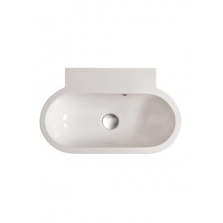 Globo Bowl Umywalka nablatowa 60x37cm, biała SB061.BI
