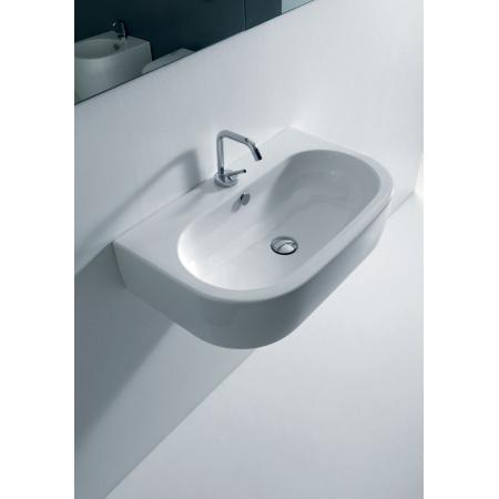 Kerasan Flo Umywalka wisząca 70x42 cm, biała 3150