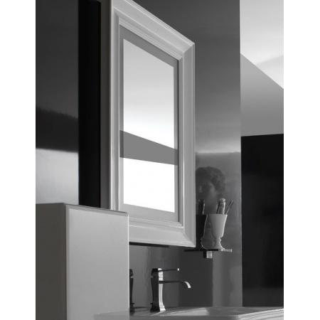 Globo Relais Lustro 80x90x6 cm, białe SP080BI