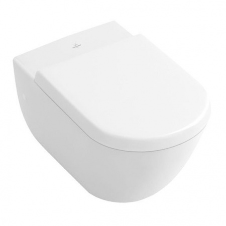 Villeroy & Boch Subway Toaleta WC podwieszana 37x56 cm, lejowa, biała Weiss Alpin 66001001