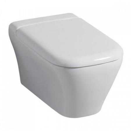 Keramag MyDay Toaleta WC podwieszana 54x36 cm lejowa z powłoką KeraTect, biała 201400.600