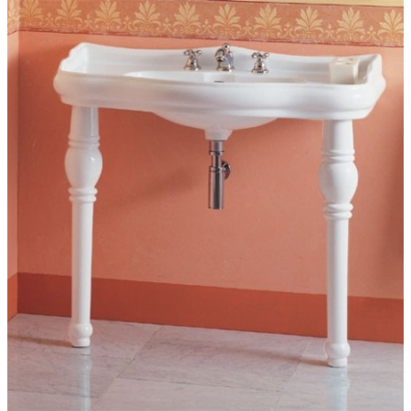 Kerasan Retro Noga ceramiczna do umywalki, biała 1083