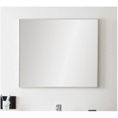 Antado Akcesoria łazienkowe Lustro Aluminium czarne ALC-120x80