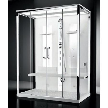 Novellini Nexis Dual Kabina wielofunkcyjna z sauną parową 170x90x235 cm, biały NEX2A170T5-1KA