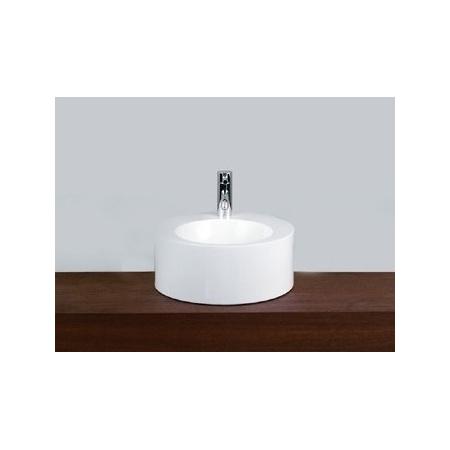 Alape AB.K400H.2 Umywalka nablatowa 40 cm emaliowana biała z powłoką 3004000000