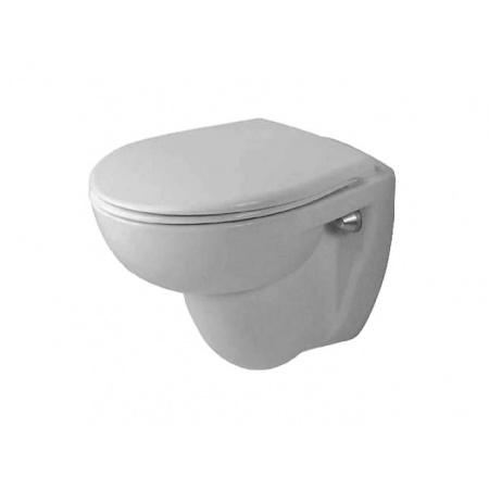 Duravit Duraplus Toaleta WC podwieszana 46x36 cm Compact krótka z powłoką WonderGliss, biała 02280900001
