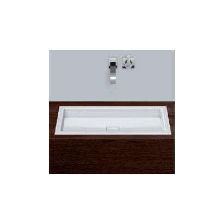 Alape umywalka emaliowana EB.RE700.4 biała wymiary 65 x 700 x 398 nr kat. 2207000401
