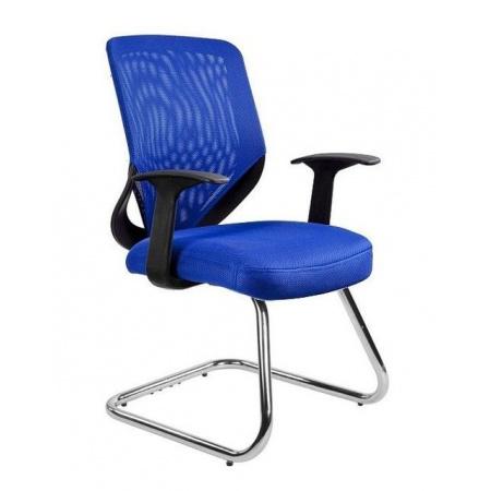 Unique Mobi Skid Fotel biurowy, niebieski W-953-7