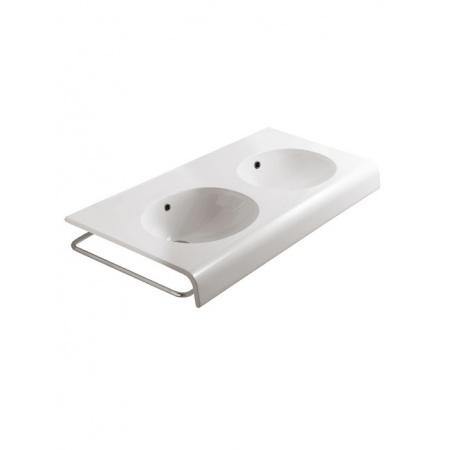 Globo Bowl Reling boczny do umywalki 110 cm, chrom PBLCR