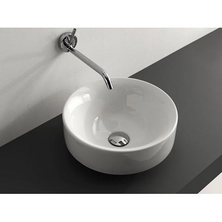 Kerasan Cento Umywalka nablatowa 35x35 cm biała 3558
