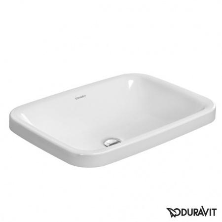 Duravit DuraStyle Umywalka 60x43 cm z powłoką WonderGliss, biała 03726000001