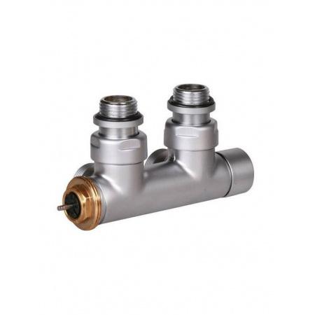 Terma Technologie Zawór termostatyczny 50 mm kątowy 90 stopni prawy, satyna TGZTST006