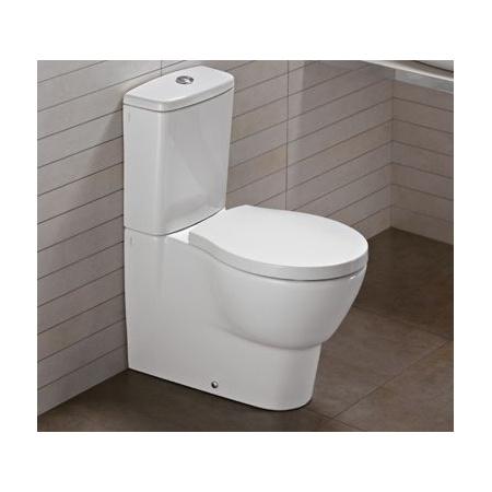 Hatria Nido Miska WC stojąca 35,6x65,5cm, biały Y0TQ