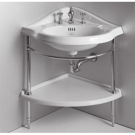 Simas Arcade Umywalka narożna 57,5x57,5 cm, biała AR884